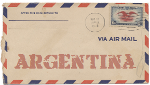 Recent missionary letter from Argentina