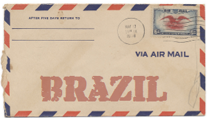 Recent missionary letter from Brazil
