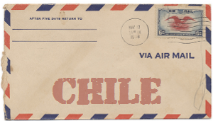 Recent missionary letter from Chile