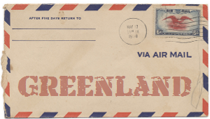 Recent missionary letter from Greenland