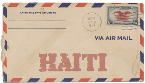 Recent missionary letter from Haiti