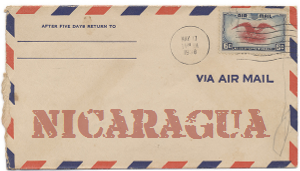 Recent missionary letter from Nicaragua
