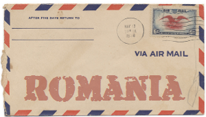 Recent missionary letter from Romania
