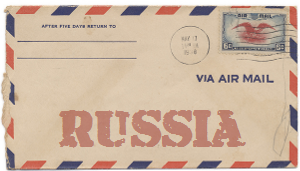 Recent missionary letter from Russia