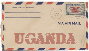 Recent missionary letter from Uganda